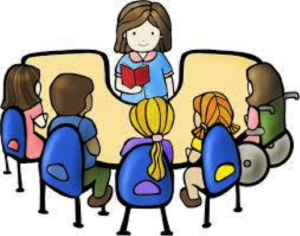 reading with teacher