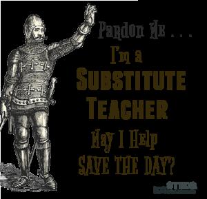 sub teacher