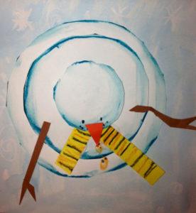 aerial-snowman