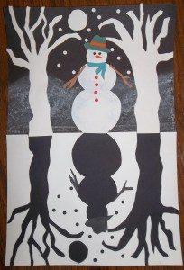 snowman-silhouette