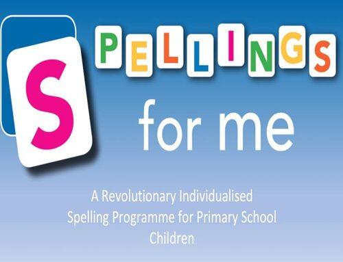 Spellings for Me – Individualised Spelling Programme