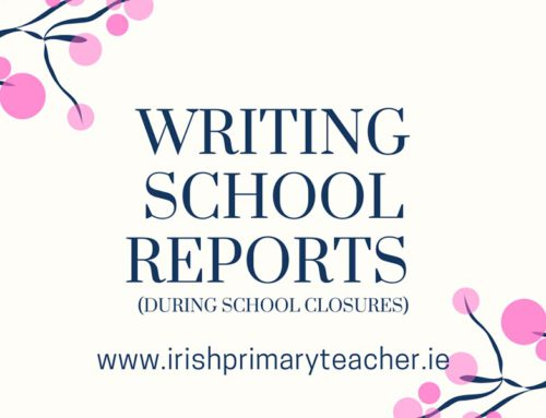 Writing School Reports – During school closures
