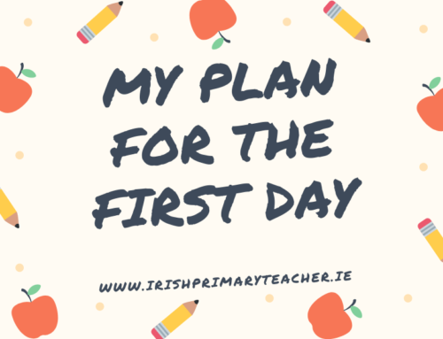 My plan for the first day (September 2020)