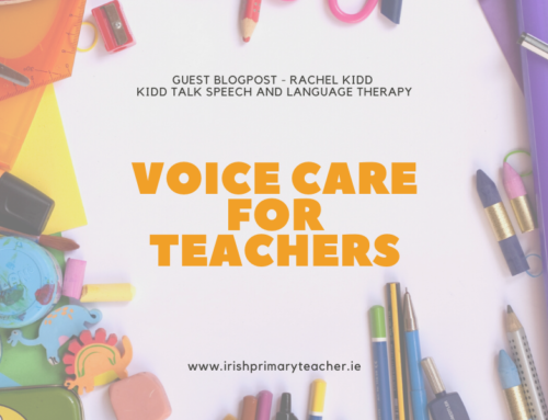 Guest Blogpost – Voice care for Teachers (Rachel Kidd)