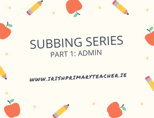 Part 1: Subbing Series – Admin side of things