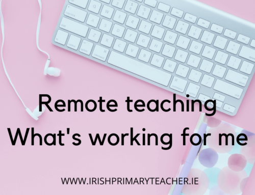 Remote Teaching – What's working for me