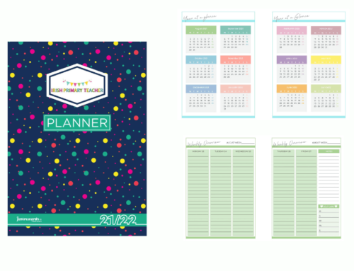 Irish Primary Teacher Planner 2021-2022