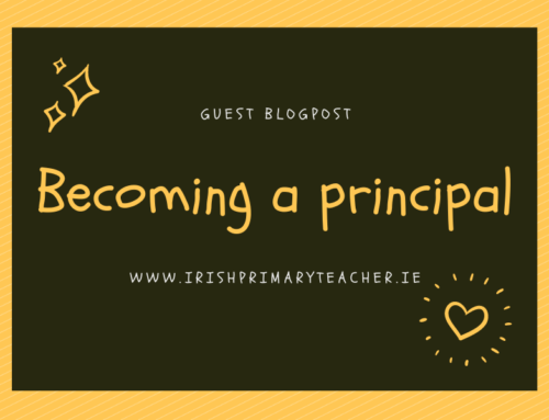 Becoming a primary principal (Guest blogpost)