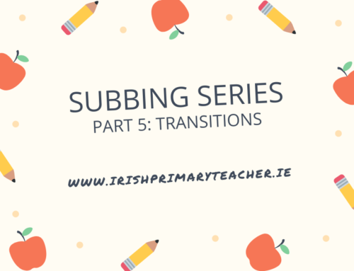Part 5: Subbing Series – Transitions